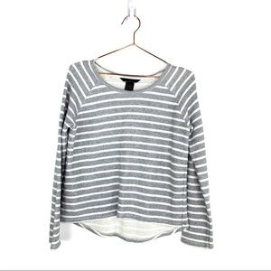 CALVIN KLEIN Long Sleeve Striped Sweater